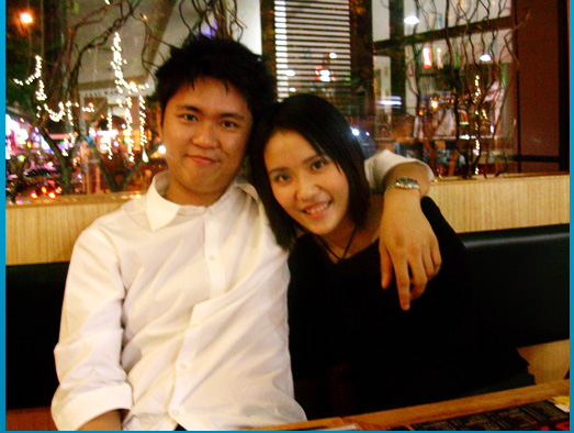 Birthday Dinner @ Basil, Bangsar Village: ME and Jerry