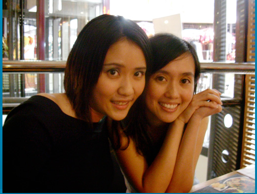Birthday Dinner @ Basil, Bangsar Village: ME and Eunice