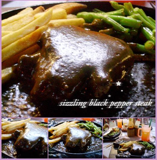 Sizzling Black Pepper Steak