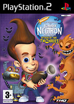 PlayStation 2 Game: Jimmy Neutron - Attack of the Twonkies