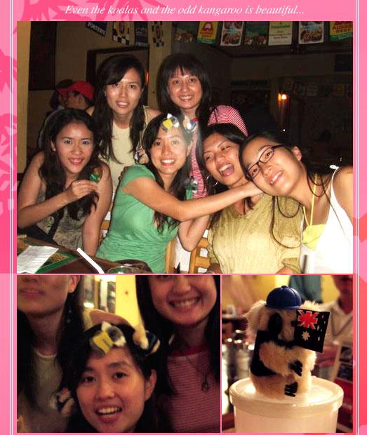 A beautiful evening: eunice birthday party