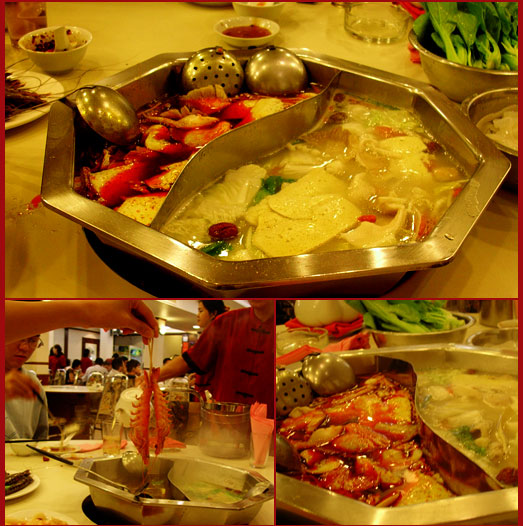 Super spicy steamboat~