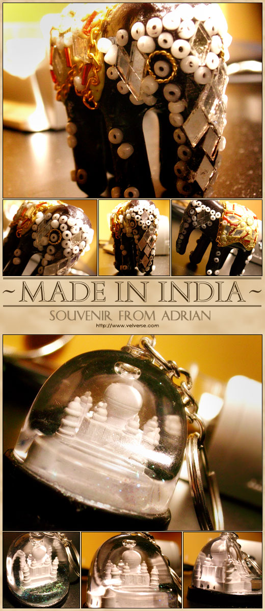 Made in India: Souvenir from Adrian