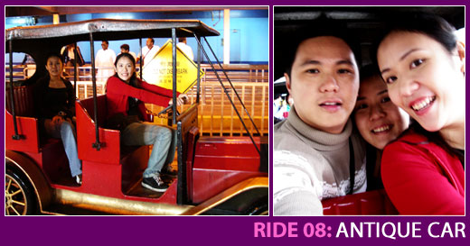 Ride 08: Antique Car