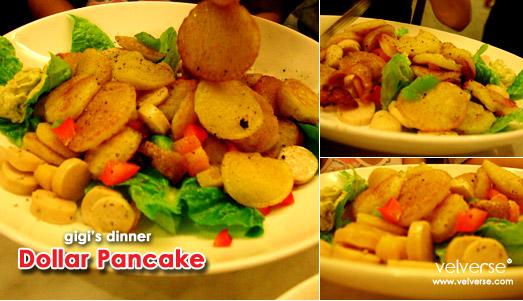 gigi's dinner: Dollar Pancake