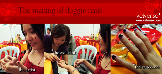 The making of doggie nails