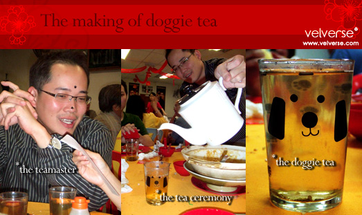 The making of doggie tea