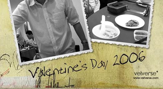 Valentine's Day 2006: Porridge Steamboat Party
