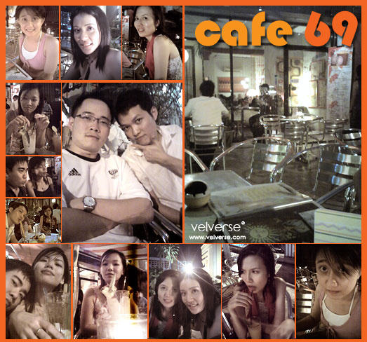 Drinking at Cafe 69