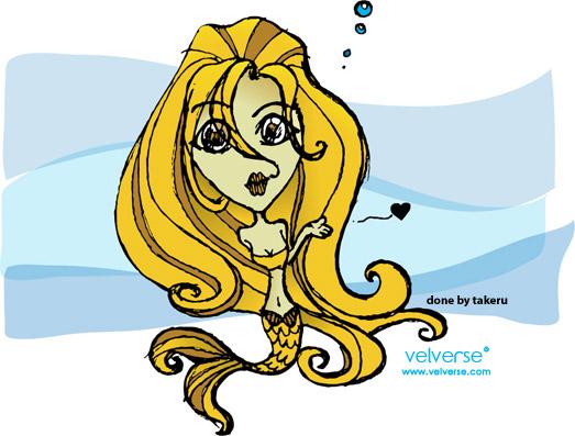 Mermaid - done by takeru