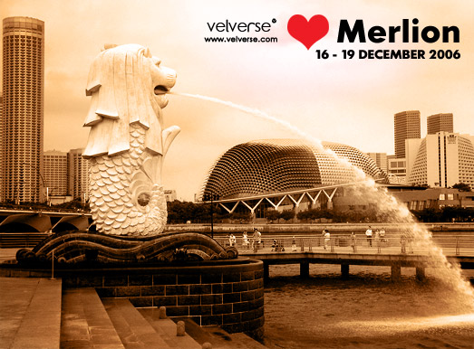 I love Merlion
