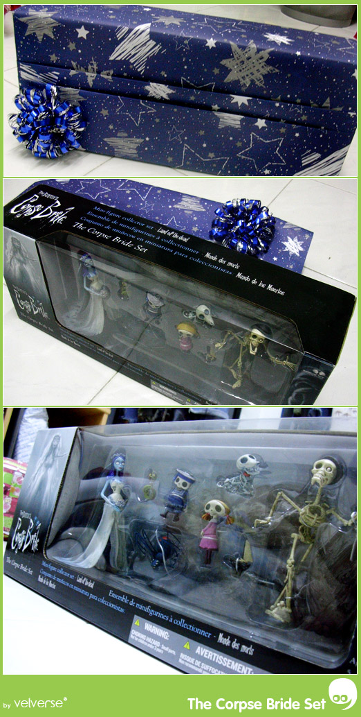Christmas Present from Gigi - The Corpse Bride Set
