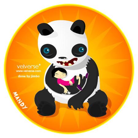 Care Panda - done by jimbo