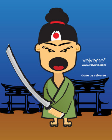 Little Samurai - done by velverse