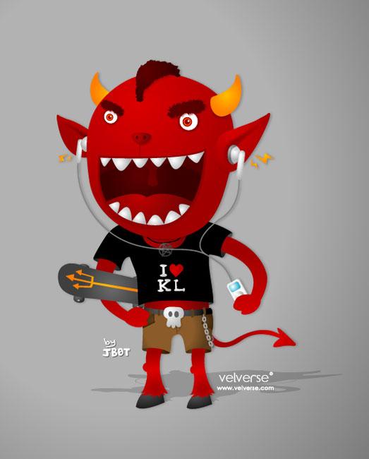 666 Devil - done by jaesern