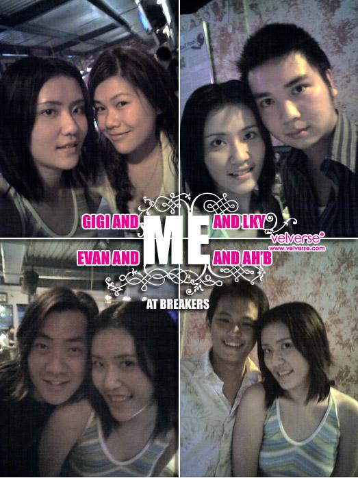 Gigi, LKY, Evan, Ah' B and ME at Breakers