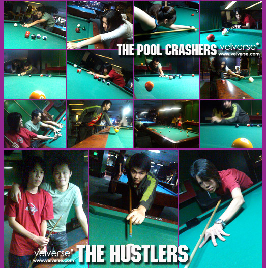 The Pool Crashers!