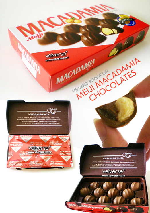 Meiji: Macadamia Chocolate