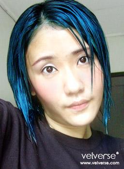 velverse in blue
