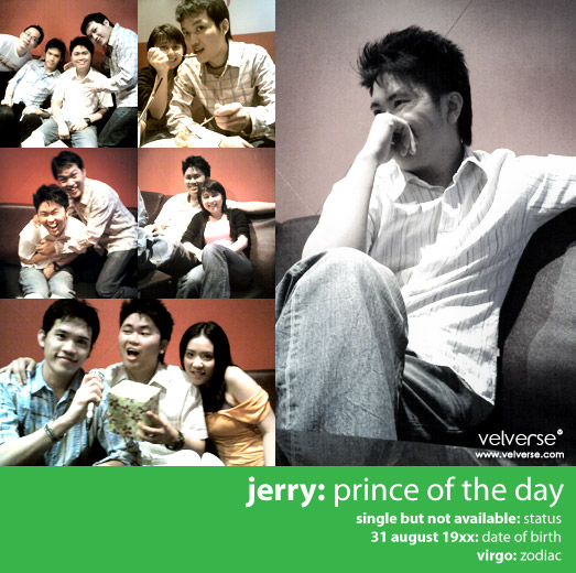 jerry: prince of the day
