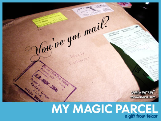 My magic parcel