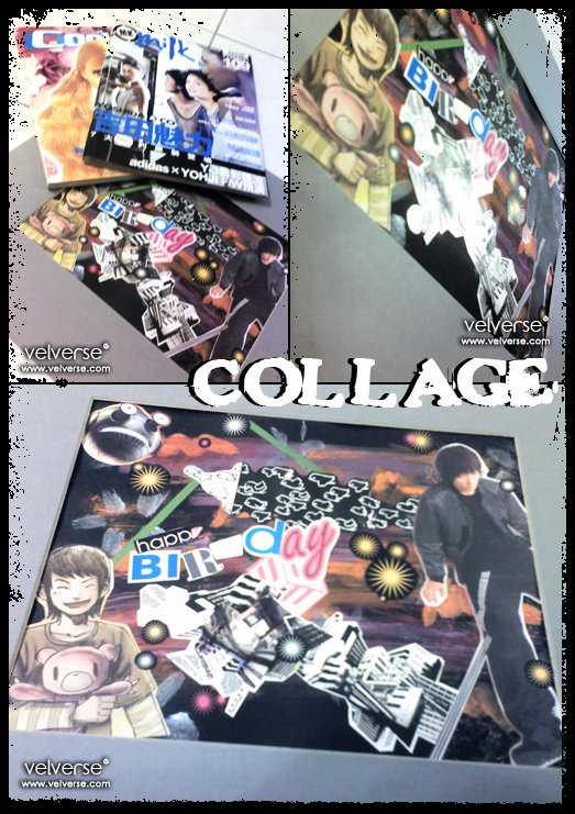 Collage - done by velverse