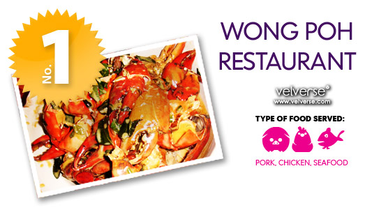 top 5 food velverse loves: Wong Poh Restaurant
