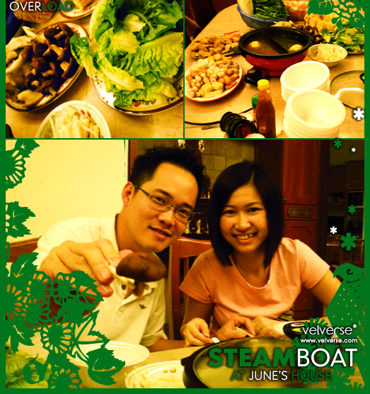 Steamboat at June's House
