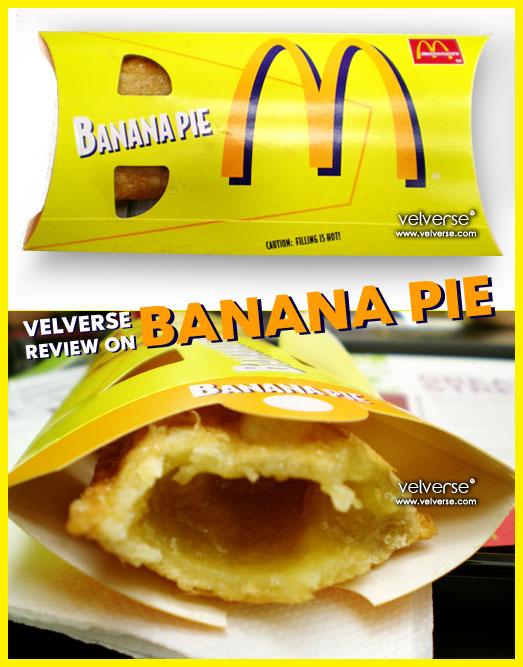 McD's Banana Pie