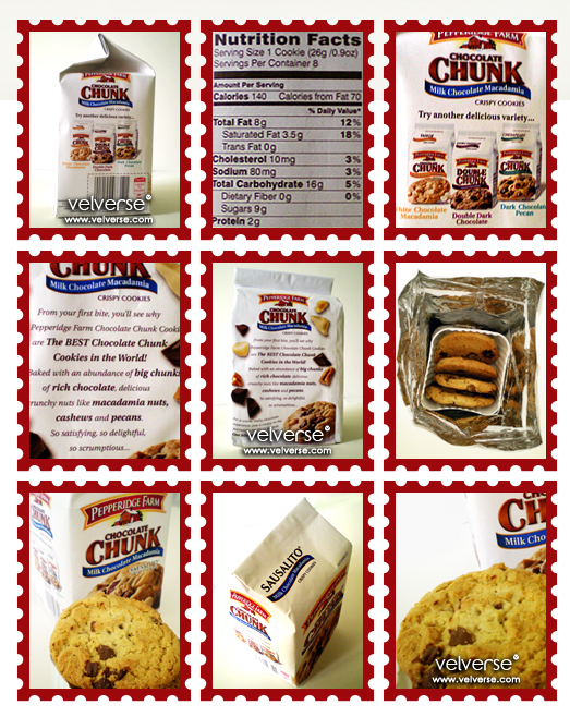 Pepperidge Farms: Chocolate Chunk Cookies - Milk Chocolate Macadamia