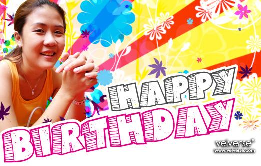 Happy Birthday, My Dear Sis