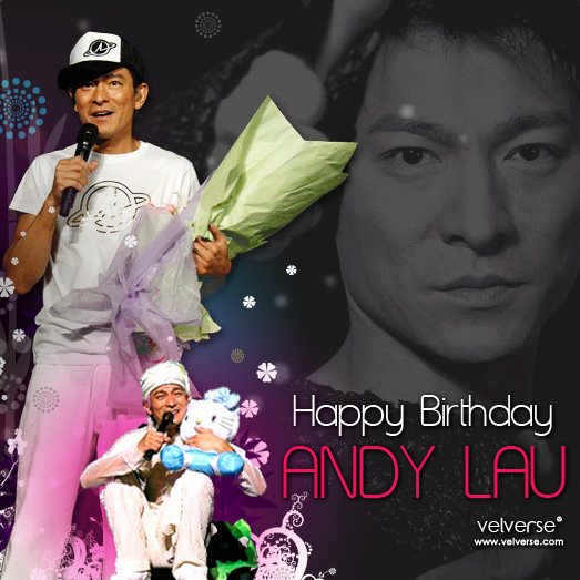 Happy 46th Birthday ANDY~