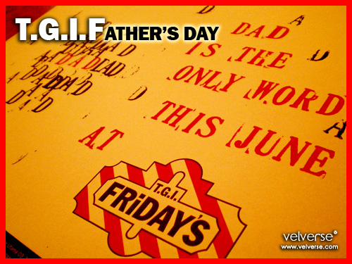 T.G.I.Father's Day