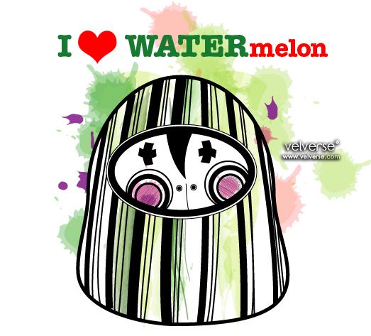 I love WTERmelon