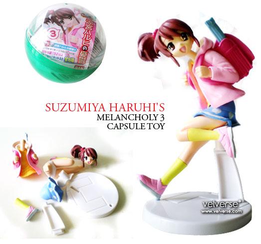 Suzumiya Haruhi's Melancholy 3 Capsule Toy