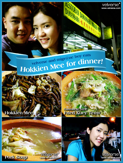 Hokkien Mee for dinner!