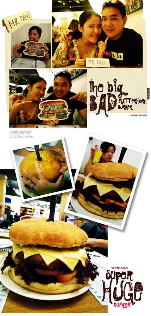 The BIG bad burger!