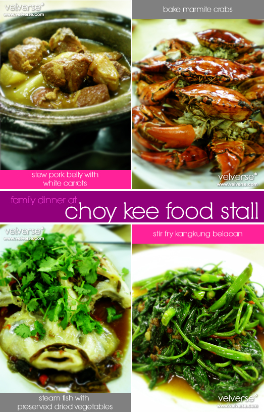 Bake Crabs at Choy Kee